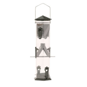 NATURE'S WAY BIRD PRODUCTS WIDE DELUXE TWIST AND CLEAN SUNFLOWER FEEDER, 17