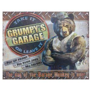 GRUMPY'S GARAGE SIGN