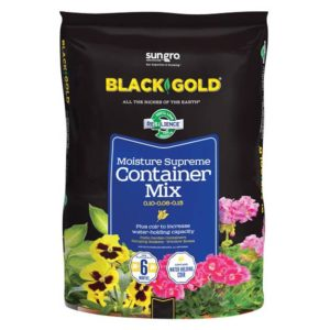BLACK GOLD MOISTURE SUPREME CONTAINER MIX, 8 QT.