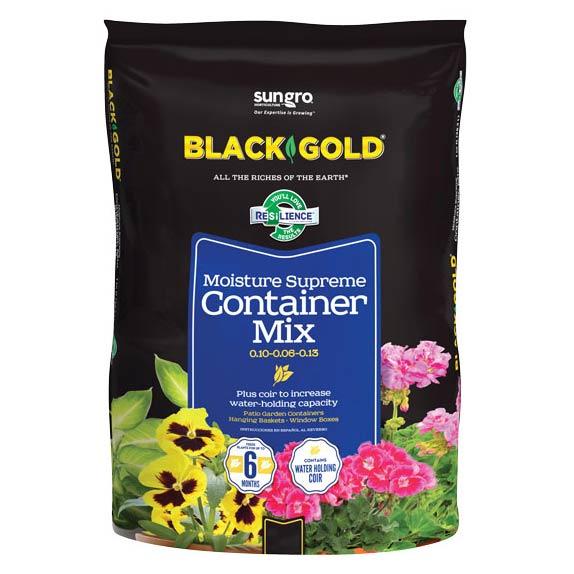 BLACK GOLD MOISTURE SUPREME CONTAINER MIX, 8 QT.