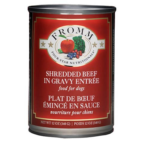 FROMM FOUR STAR SHREDDED BEEF DOG FOOD