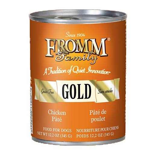 FROMM GOLD CHICKEN PATE DOG FOOD