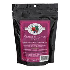 FROMM LOW-FAT CRANBERRY LIVER DOG TREATS