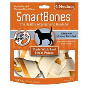 SMARTBONES SWEET POTATO MEDIUM 4 PACK