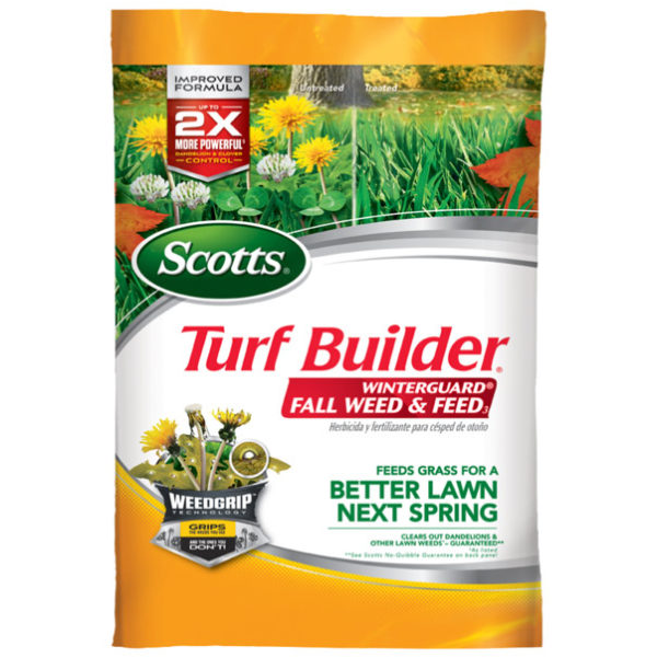 Scotts Turf Builder WinterGuard Fall Weed & Feed, 15M