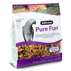 Zupreem® Pure Fun, For Parrots & Conures
