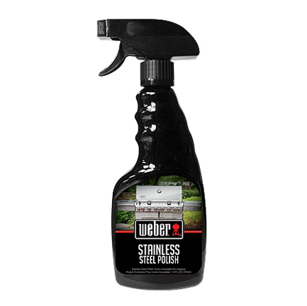WEBER STAINLESS STEEL GRILL POLISH, 12-OUNCE