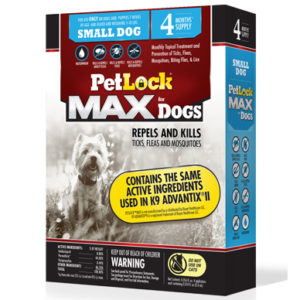 PetLock Max for Small Dogs, 5-10 LB (4 Count)