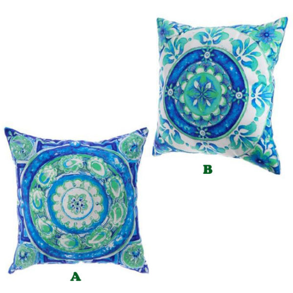 "18"" Tile Art Pillow - Sold Separately"