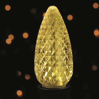 C9 Led Smd Warm White Light Bulbs Box Of 25