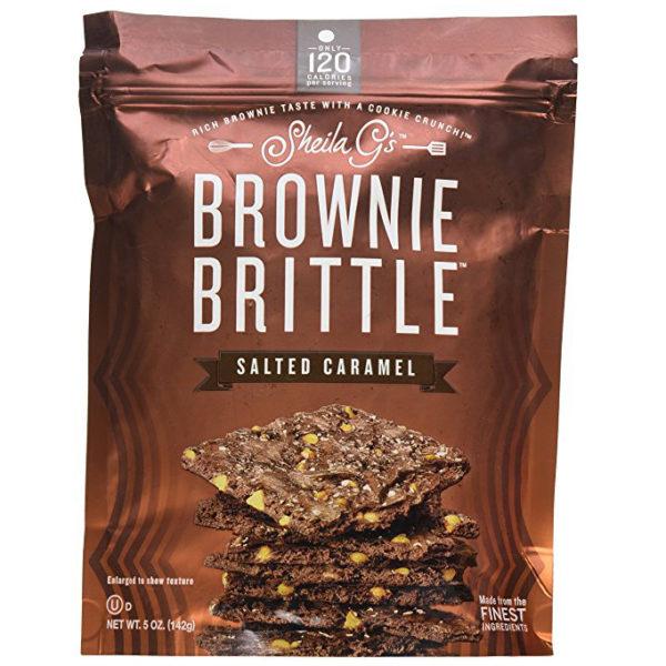SALTED CARAMEL BROWNIE BRITTLE, 5 OZ