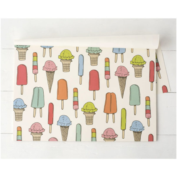 30 CT ICE CREAM SOCIAL PAPER PLACEMAT