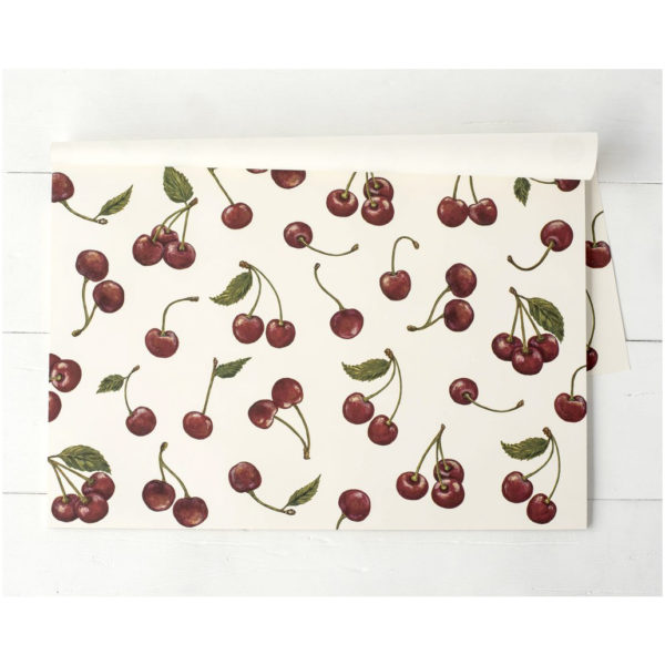 30 CT CHERRIIES PAPER PLACEMAT