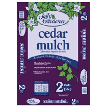 JOLLY GARDENER CEDAR MULCH, 2 CU. FT.