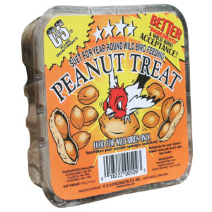 C&S PEANUT TREAT SUET CAKE, 11.75 OZ.