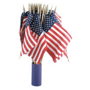 ANNIN US HAND FLAG, 4 IN. X 6 IN.