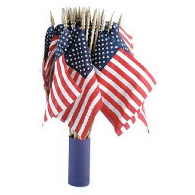 ANNIN US HAND FLAG, 4 IN. X 6 IN.