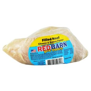 RED BARN CHEESE BACON FILLED HOOF DOG CHEW, 1.8OZ ,1CT