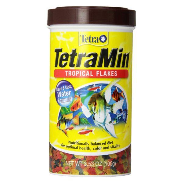 TetraMin Large Tropical Flakes, 2.82 oz