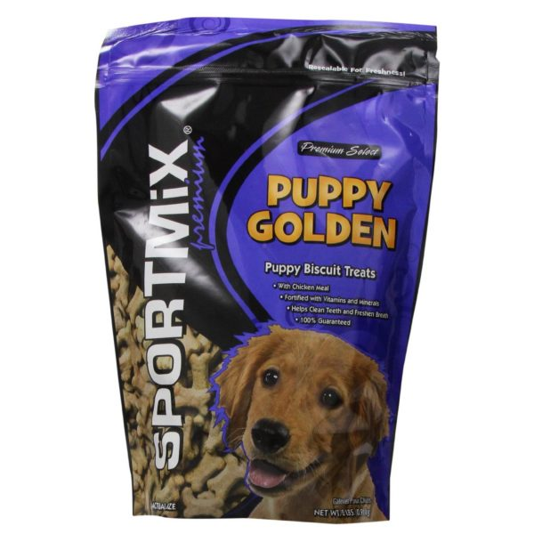 MIDWESTERN PET FOODS SPORTMIX ORIGINAL CHOICE GOLDEN PUPPY DOG BISCUIT