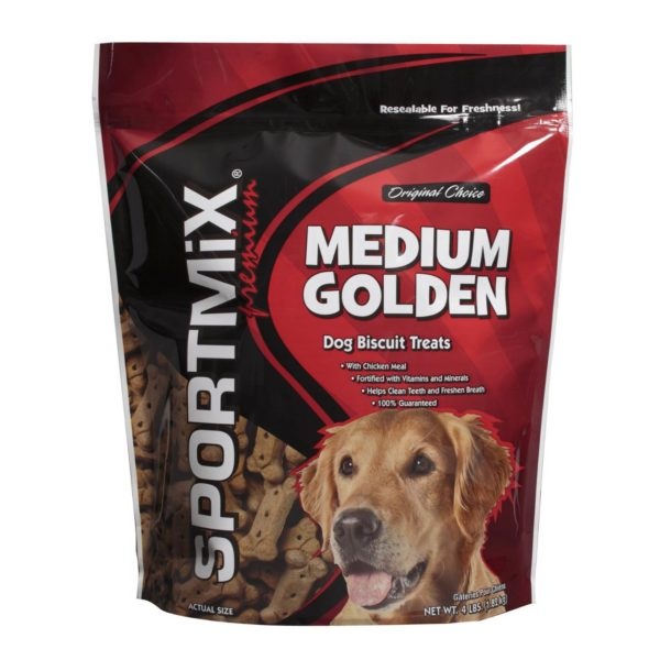 MIDWESTERN PET FOODS SPORTMIX ORIGINAL CHOICE GOLDEN DOG BISCUIT TREATS,