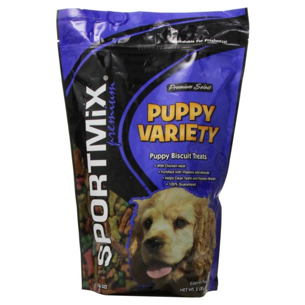 MIDWESTERN PET FOODS SPORTMIX ORIGINAL CHOICE VARIETY PUPPY DOG BISCUIT