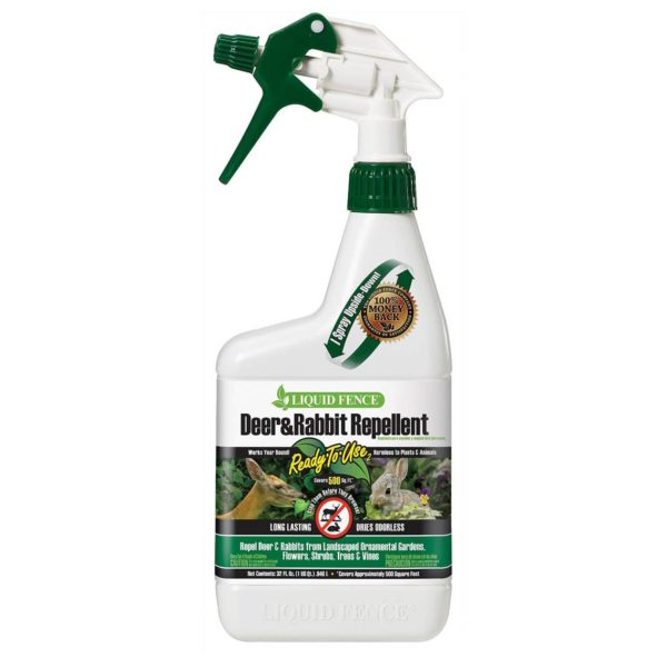 DEER & RABBIT REPELLENT READY-TO-USE, QUART