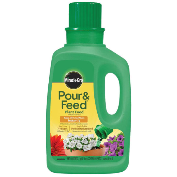 POUR AND FEED LIQUID PLANT FOOD, 32 OZ.