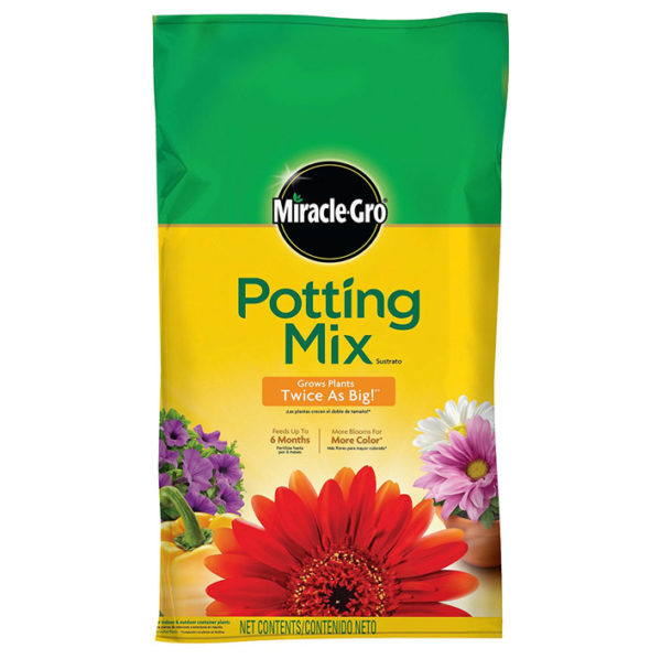 MIRACLE-GRO POTTING MIX, 1 CU.FT.