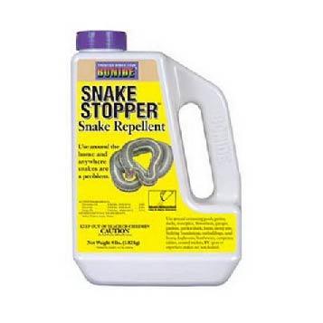 SNAKE STOPPER, 4 LB.