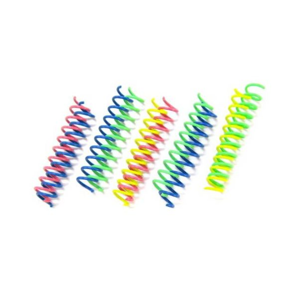 ETHICAL THIN COLORFUL SPRINGS CAT TOY (10-PACK)