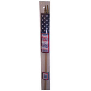 Poly 12 in. x 18 in. U.S. Flag, (2 pack)
