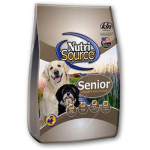 NutriSource Senior Dog Food - Chicken and Rice, 30 LB