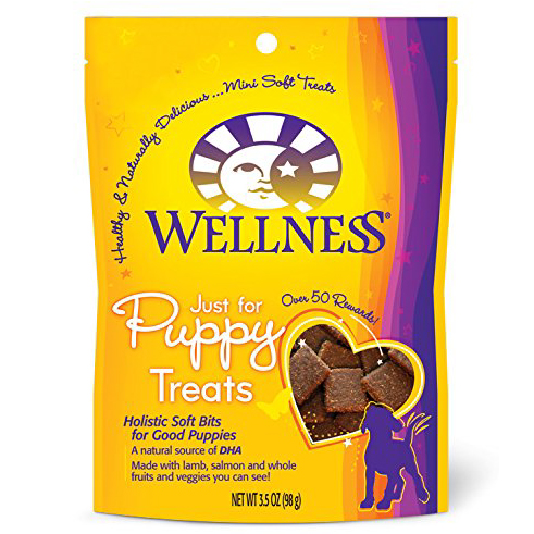 Wellness Just For Puppy Soft Natural Puppy Treats, 3.5-Ounce Bag