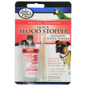 Four Paws Blood Stopper Powder, 0.5 Ounce