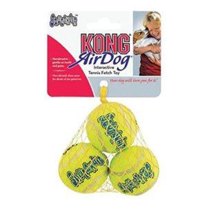 KONG SQUEAKER TENNIS BALLS DOG TOY, X-SMALL (3 PACK)
