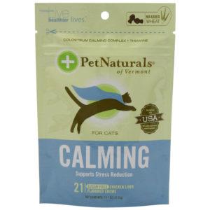 Pet Naturals Calming for Cats, 1.11oz. (21 count)