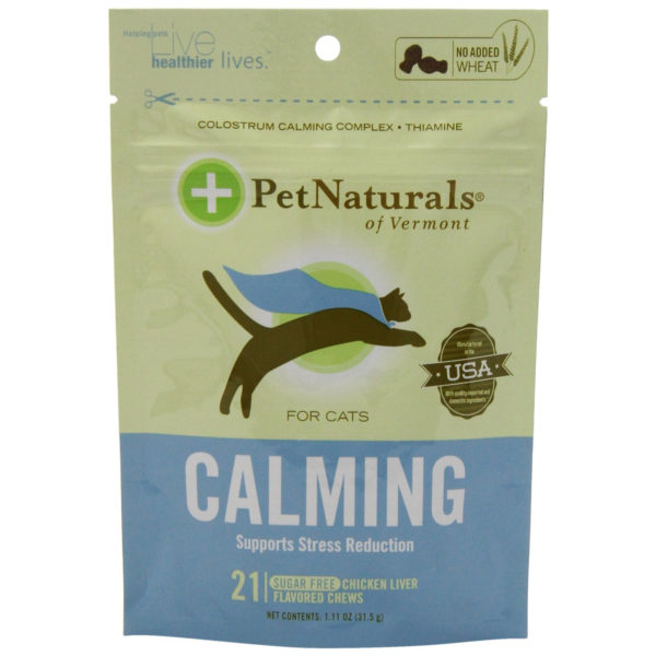 Pet Naturals Calming for Cats, 1.11oz. (21 count)