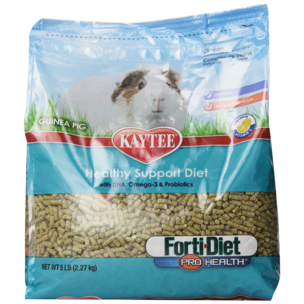 Kaytee Forti Diet Pro Health Food for Guinea Pig, 5 lbs.