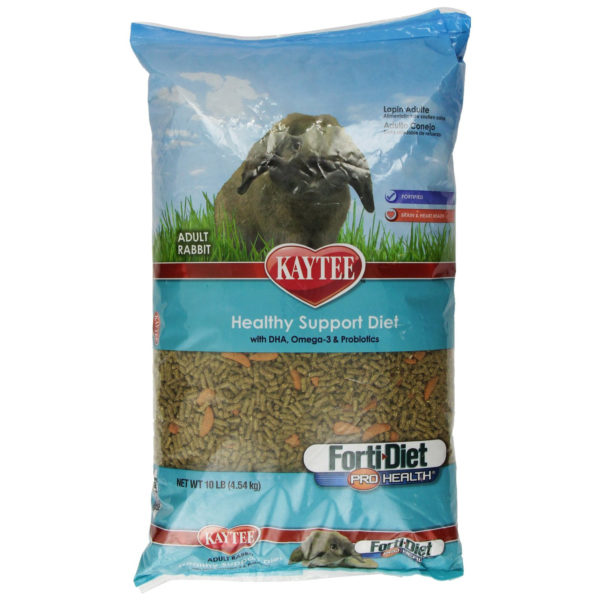 Kaytee Forti Diet Pro Health Food for Adult Rabbit, 10 lbs.