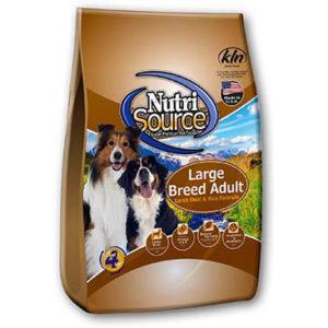 NutriSource Large Breed Adult - Lamb Meal & Rice Formula, 33 LB