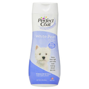 Perfect Coat White Pearl Dog Shampoo, 16 Ounce
