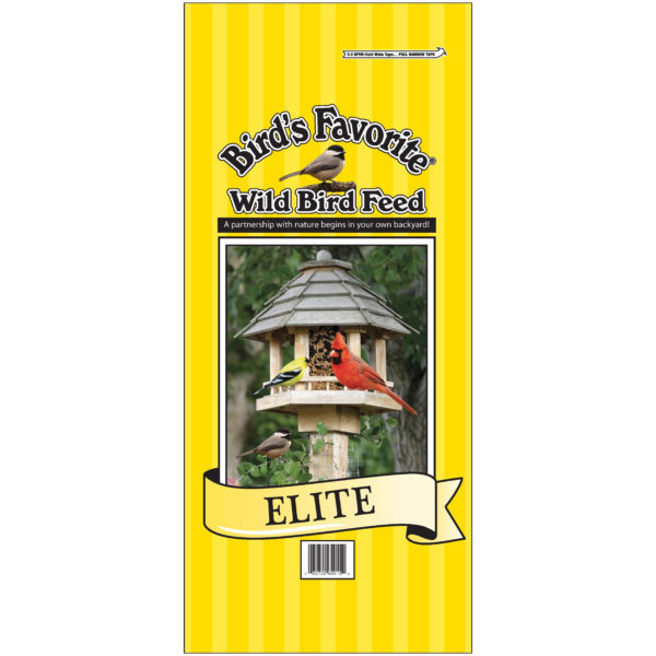 Bird's Favorite Elite Wild Bird Feed, 20 LB