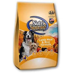 NutriSource Lamb Meal & Rice Formula, 33 LB