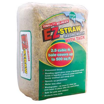 EZ Straw Seeding Mulch w/ Tack