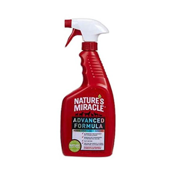 NATURE'S MIRACLE ADVANCED STAIN & ODOR REMOVER, 24 OZ. SPRAY