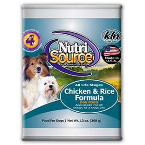 NutriSource Chicken & Rice Formula - Canned Dog Food