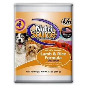 NutriSource Lamb & Rice Formula - Canned Dog Food