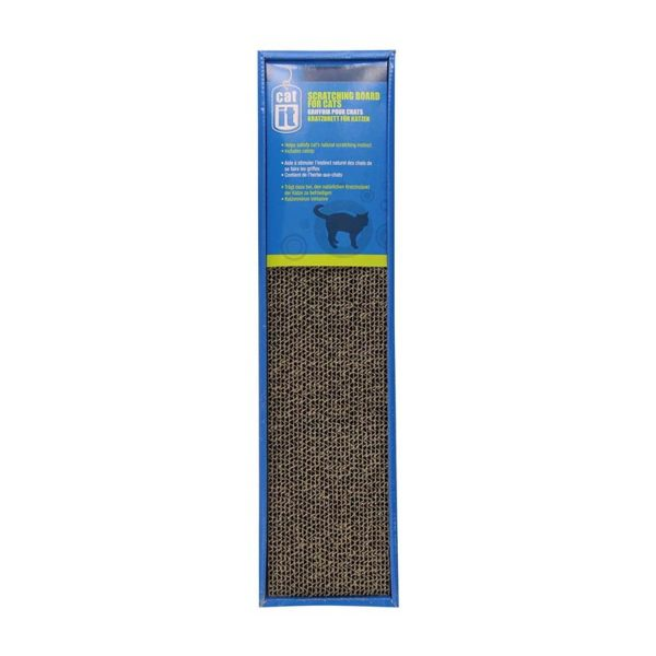 CATIT SCRATCHER WITH CATNIP, NARROW