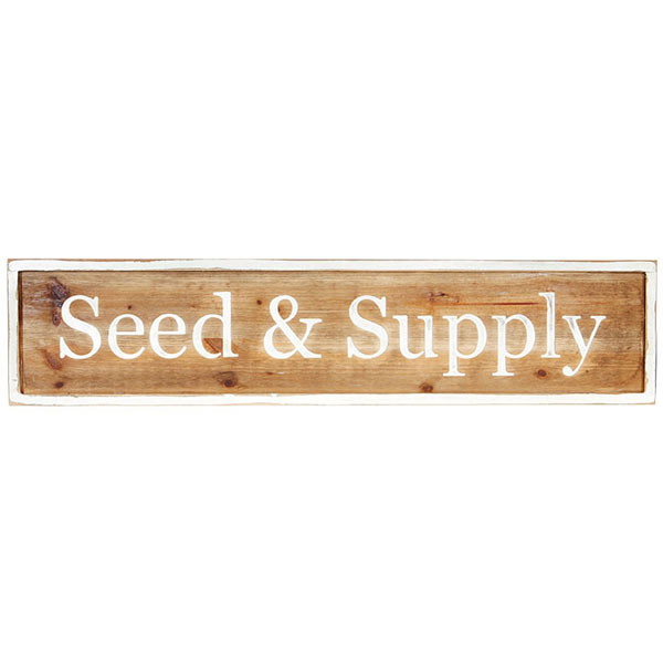 42 Seed And Supply Wall Sign